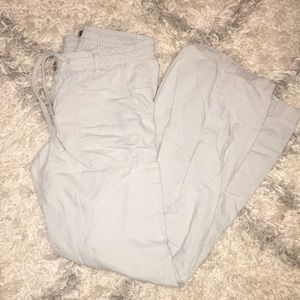 Gap Women's wide leg linen pants, size 6